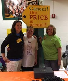 Employees at Relay for Life Event