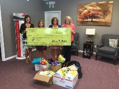 Donation to Hope Springs